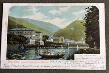 CPA. BAD EMS. Allemagne. 1903. Kursaal. Kurgarten u. Bäderley. Bateau.