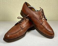 "Allen Edmonds Brown Calf Leather Cordovan ""Bradley"" Split Toe Sz 11D"