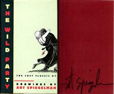 Art Spiegelman SIGNED AUTOGRAPHED The Wild Party HC 1st Ed NEW Maus