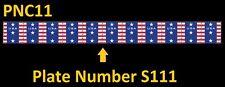 US 4385 Patriotic Banner Presorted Standard 10c PNC11 S111 MNH 2009