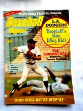 OCTOBER 1973  BASEBALL DIGEST MAGAZINE: SPECIAL - WORLD SERIES FEATURES, RECORDS