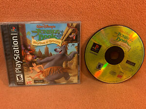 Jungle Book Rhythm n Groove Sony PlayStation 1 PS1 PSOne Black Label Complete!