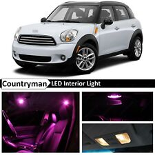 15x Pink LED Light Interior Package Kit Fit 2011-2014 MINI Cooper Countryman S