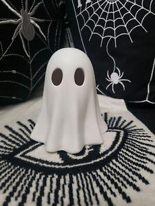 Flying Tiger Halloween Large white Ceramic Ghost ornament light up tkmaxx tiktok