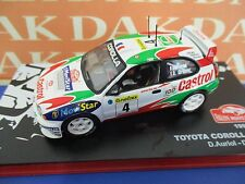 Die cast 1/43 Modellino Auto Toyota Corolla WRC Rally Montecarlo 1999 D.Auriol