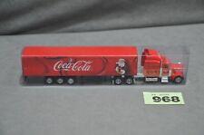 "23cm 9"" Kenworth Coca Cola Christmas Truck Holidays Santa 2007 Scale 1:87 #968"
