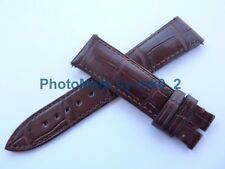 Genuine Vacheron Constantin Alligator Brown Strap Band 21mm X 18mm BRAND NEW!!!