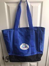 Disney Vacation Club Resort Dvc Canvas Tote Blue Beach Bag Blue - Euc