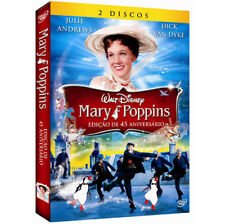DVD Disney Mary Poppins [ Audio and Subtitles English+Spanish+Portuguese ]