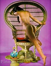 1968 Original 16x20 ASIAN FEMALE NUDE Butt Japan Photo Art By SUSUMU MATSUSHIMA