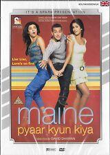 MAINE PYAAR KYUN KIYA - SALMAN KHAN - KATRINA KAIEF - BRAND NEW BOLLYWOOD DVD