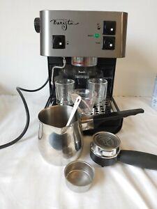 Starbucks Barista Espresso Stainless Coffee Maker w/ Accessories WORKS