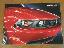 2010 Ford Mustang range original US 40 page brochure