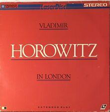 Horowitz In London (Laserdisc 116 Minutes) Vladimir Horowitz in London 1982