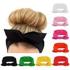 Juego De Cintas Turbantes Cintillos Para Niñas Accesorios Cabello Varios Colores