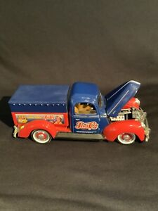 Golden Wheel 1940 Ford Pickup Pepsi Cola 1:18 Diecast Delivery Truck Coin Bank