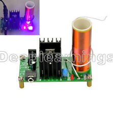 15W Mini Altavoz de plasma de bobina de Tesla música transmisión inalámbrica Tesla Hazlo tú mismo Board d