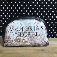 Victoria's Secret Clear Glitter Makeup Bag v49