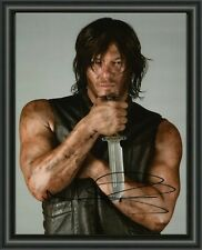 DARYL DIXON NORMAN REEDUS THE WALKING DEAD A4 SIGNED AUTOGRAPHED PHOTO POSTER 2
