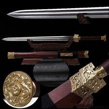 Highest grade RuYi Sectumsempra sword Multiple-refined pattern steel sharp #3718