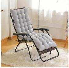 Cotton soft Seat Pad Replacement Cushion Pad Garden Sun Lounger Recliner Chair