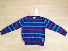 NEU Tom Tailor Pullover Gr. 128/134 blau gestreift