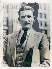 1931 US Army Pilot Captain Gordon Mackenzie  Press Photo