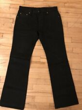 Rare Iron Heart Super Black Non Selvedge 21 Oz Extra Heavy Denim, Custom.