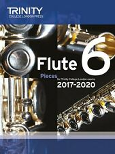 More details for trinity college flute pieces score/part 2017-22 grade 6 - sameday p+p
