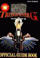 Treasure Hunter G Official Guide Book / SNES