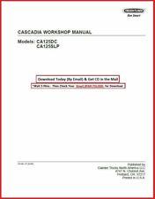 Freightliner Cascadia Truck Workshop Repair Shop Manual on Cd