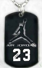 MJ MICHAEL JORDAN - Dog tag Necklace/Key chain + FREE ENGRAVING