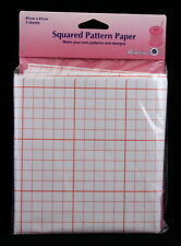 HEMLINE DRESSMAKERS SQUARED PATTERN PAPER -PATTERN CUTTING/ TEMPLATE MAKING H751