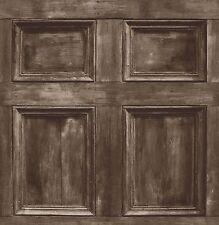 Fine Decor-fd31055-distintivo Panel De Madera Wallpaper-Brown