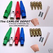 Camlok 2/0-4/0 MALE & FEMALE In Line Single Phase Kit