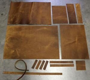 Viele Maße: Echt Leder, Nubukleder Fettleder Antikleder, Farbe beige camel braun