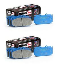 HAWK 02-06 ACURA RSX TYPE-S RSX-S BLUE 9012 TRACK RACING BRAKE PADS FRONT REAR