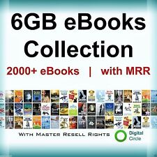 2000 Ebooks Package Collection with Master Resell Rights