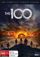 The 100 Season Four 4 DVD Region 4 NEW