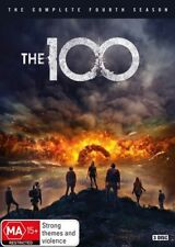 The 100 : Season 4 (DVD, 2017, 3-Disc Set)