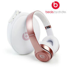 BEATS BY DR. DRE SOLO HD 2.0 WIRELESS ROSE GOLD ON EAR HEADPHONES