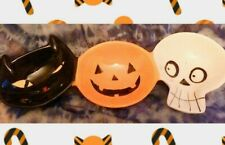 Home & Garden Unbranded 3 Halloween Character Faces Ceramic Serving Dish NWT