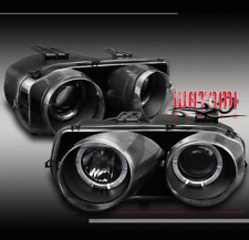 1998-2001 INTEGRA PROJECTOR HEADLIGHTS BLACK 1999 2000