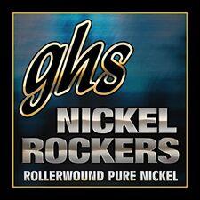 GHS R+EJM Nickel Rockers, Pure Nickel Electric Guitar Strings, Custom Medium (11