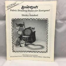 BraidCraft Braid Craft spring clamp ~ for making braided rugs ~ rugmaking