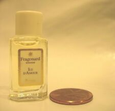 WOMENS FRAGONARD ILE D'AMOUR PERFUME PARFUM 2 ML VANITY MUSK LILY OF THE VALLEY