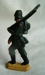 """metal figurine toy soldier WWW II 54 mm 2"""" hand painted rare"""