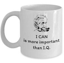 Science lover Physics mug - I can - Scientist Albert Einstein Physicist quote
