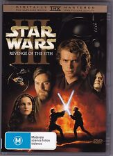 Star Wars - Revenge Of The Sith - DVD (2xDVD Region 4)