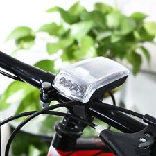 4-LED Solar Cycling Bicycle Bike Head Light Front Torch Lamp Outdoor Equipment